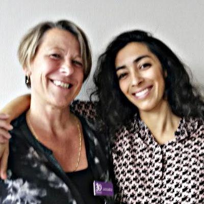 Författarna Lotta Lundberg och Negar Naseh
