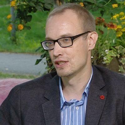 Sotamuseon näyttelypäällikkö Lauri Haavisto.