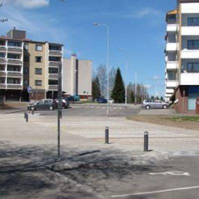 Veteraaniaukio vanha tori Rovaniemi