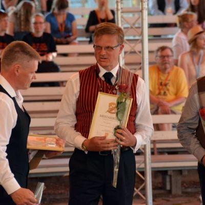 Janne Rauma, Klas Nyström och Aimo Mässbacka är nya mästerspelmän