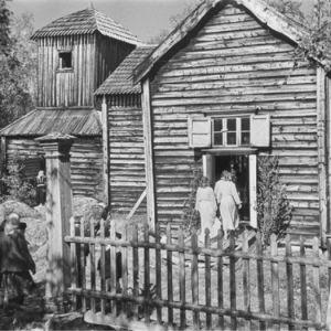 Pielpajärven erämaakirkko 1951.