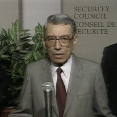 Boutros Boutros-Ghali YK:n turvallisuusneuvostossa 1996.