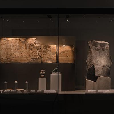 Föremål från faraonernas välde utställda på Amos Rex.