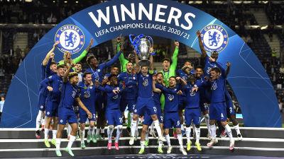Chelsea firar CL-titeln.