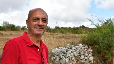 Giuseppe Pisano, ordförande för kooperativet Arcolaio.