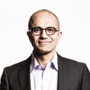 Microsofts nya vd Satya Nadella.