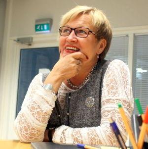Ulla-Maj Wideroos, riksdagsledamot för SFP