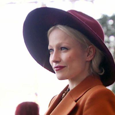 Chisu Emma Gaalan lehdistötilaisuudessa Helsingissä.