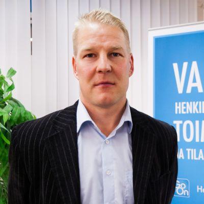 Yksikönjohtaja Juuso Kangaskorpi vuokratyöpalvelu Go on Mikkelistä