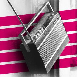 Radio graafisena kuvana.