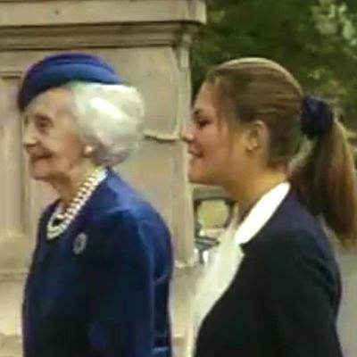 Kronprinsessan Victoria i offentligheten, Yle 1995