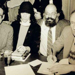 William S. Burroughs, Allen Ginsberg, Patti Smith ja Carl Solomon