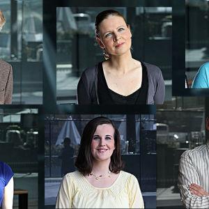 Kansainvälisen Mirjam Helin -kilpailun juontajat 2014