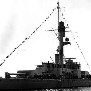 Pansarfartyget Ilmarinen, SA-bild, 1930