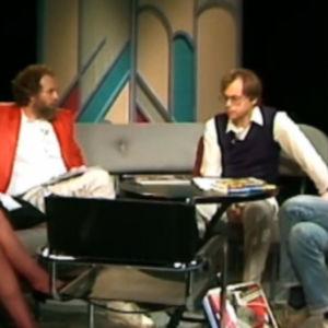 Rockdiskussion i Söndagsöppet, Yle 1985