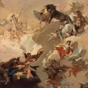 Osa Giovanni Battista Tiepolon (1696–1770) maalauksesta