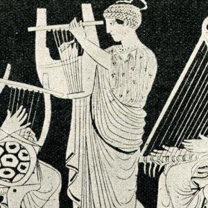 Muinaiset kreikkalaiset yhdistivät musiikin teorian  ja matematiikan. Sana 'musiikki' tulee ylijumala Zeuksen tyttärien, muusien mukaan .