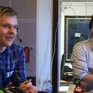 Männen från Napapiirin sankarit intervjuas av X3M