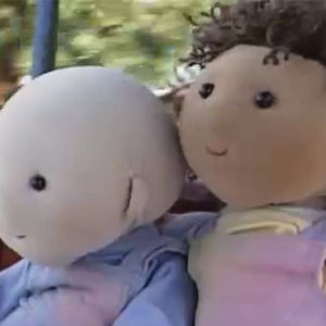 lilla o och molly, borgbacken, 1989