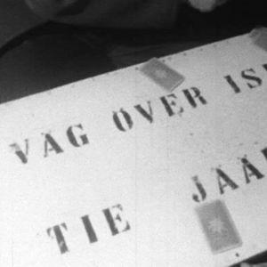 Kortspel på båten till Jussarö, 1965