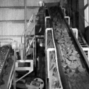 Stenkross i Jussarö gruva, 1965