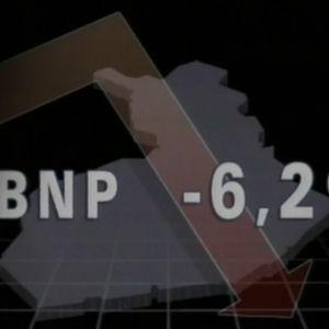 illustration av finlands nergående BNP