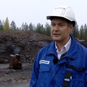 Talvivaara projekti Oy:n varatoimitusjohtaja Vesa Kainulainen (2006)