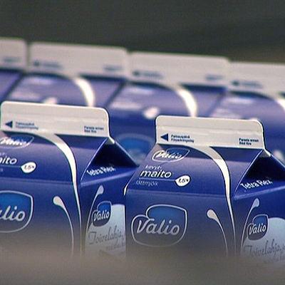 Valios mjölkförpackningar