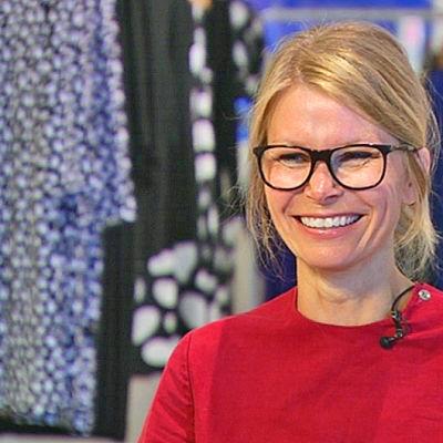 Anna Teurnell kreativ chef på Marimekko.