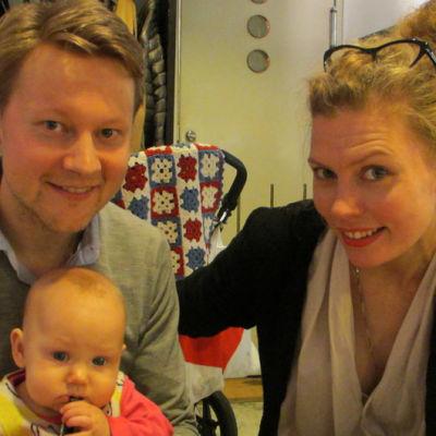 Antti Tikkanen, Emma Tikkanen, Minna Pensola