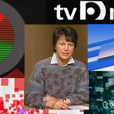 TV-nytt för några decennier sedan.