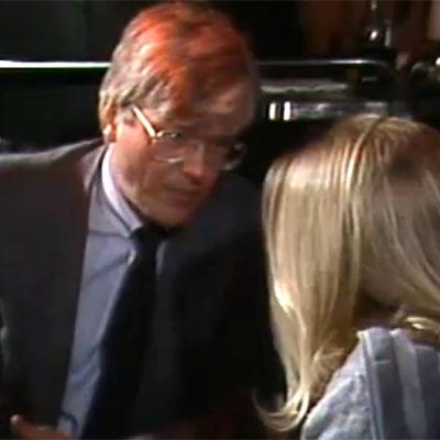 Tom Wentzel och Stina Rautelin, Yle 1985