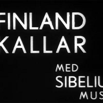 Introduktionstext till kortfilmen Finland kallar,