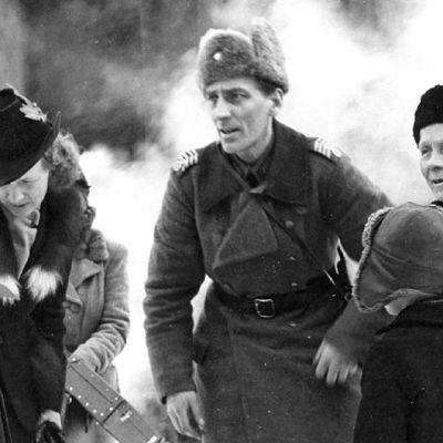 Barn som skall evakueras, 1939