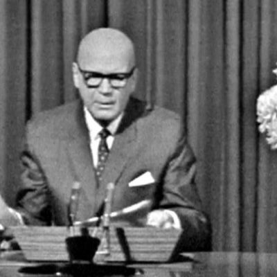 Urho Kekkonen håller tal, 1965