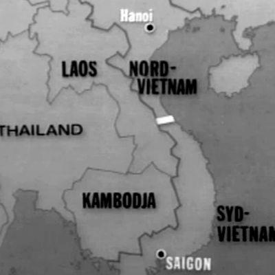 karta över vietnam, 1973