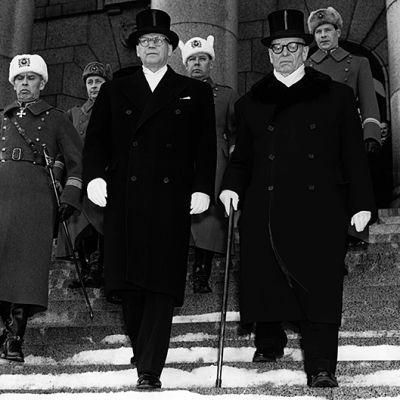 Paasikivi och Kekkonen, 1956