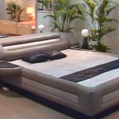 vattensäng i läder på habitare 1987