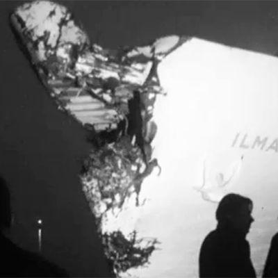 Olycka i Långnäs hamn, 1968