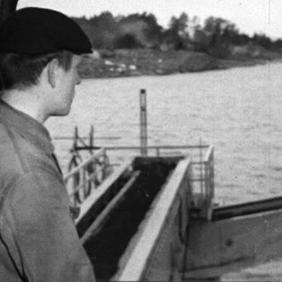 Man kontrollerar malmlastning, 1965