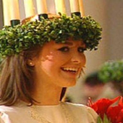 Ellen Husberg som finlands lucia år 2009