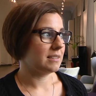 Sara Haraldsson, generalsekreterare på Maktsalongen