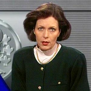 Tv-nytt om markens devalvering, 1993