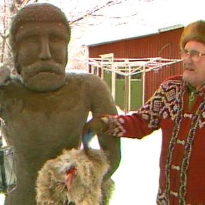 Folkkonst i Österbotten.
