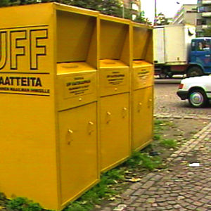 Uff-klädinsamling, Yle 1988