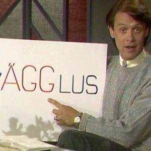 Leif Jakobsson drar en påsklek i Söndagsöppet
