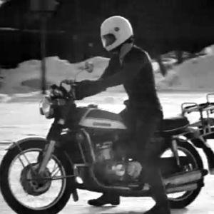 Polis på motorcykel, Yle 1973