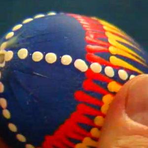 påskägg med vaxteknik, 1990