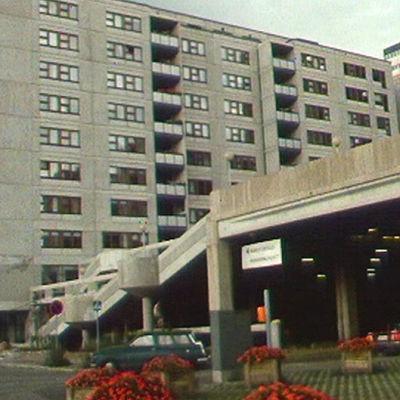 Bild från stadsdelen Havshagen i Helsingfors.