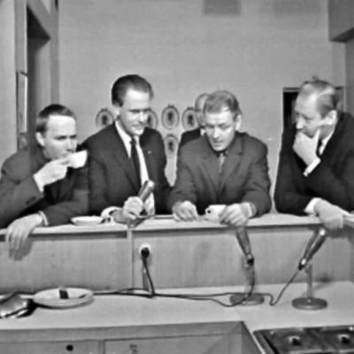 Intervju i Svenska Teaterns lunchrum år 1966